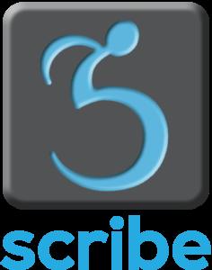 Logo: scribe